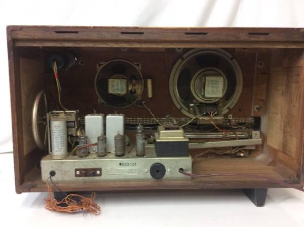 レトロ ラジオ ナショナル EA-700 真空管 ジャンク_画像3