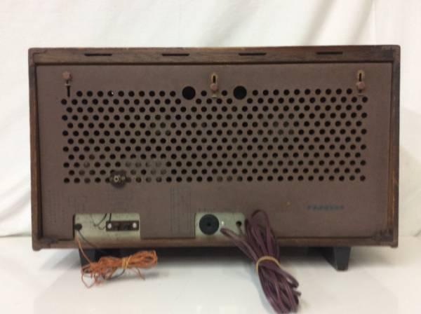 レトロ ラジオ ナショナル EA-700 真空管 ジャンク_画像2