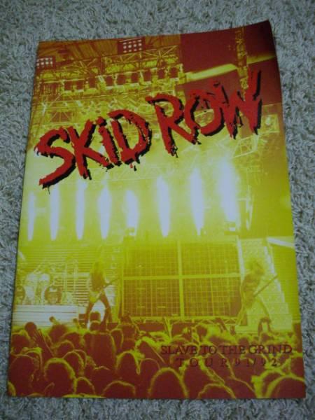 貴重!★スキッドロウ SKID ROW SLAVE TO THE GRIND TOUR 91/92★