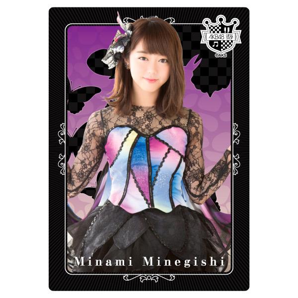 ☆ AKB48 峯岸みなみ 限定 12/23発売 下敷き (全21種) ライブ・総選挙グッズの画像