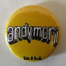 andymori アンディモリ RSR2010 ライジングサンRISINGSUN 缶バッジ