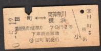 S40田町−東神奈川・横浜(田町駅発行2等)