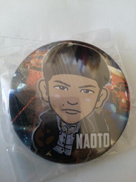 三代目J Soul Brothers NAOTO MP モバイル 缶バッジ ☆