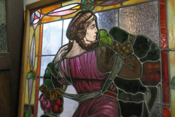 希少♪豪華特大♪イタリア SANTE PIZZOL ステンドグラス/窓/建具_画像2