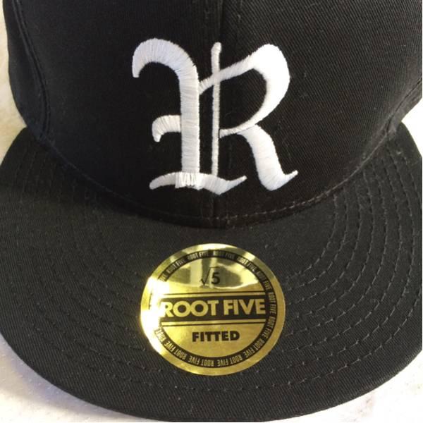 n4◆ROOT FIVE ルートファイブ √5 OTTO スナップバック キャップ 帽子 ブラック 黒