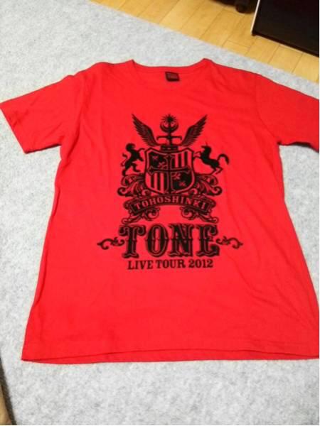 東方神起 2012年ライブTシャツ ライブグッズの画像