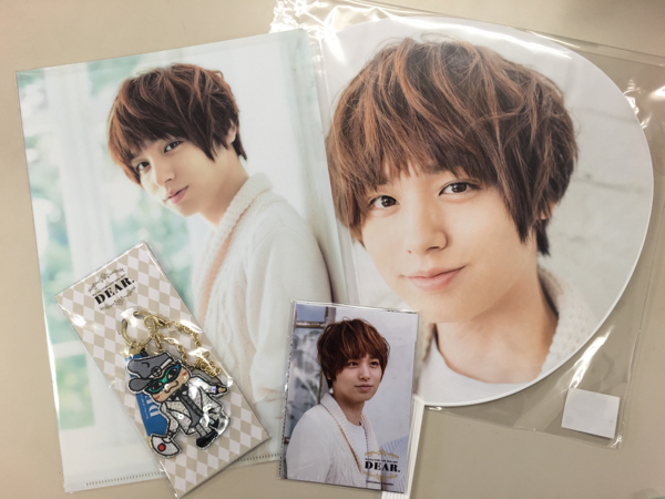 Hey!Say!JUMP グッズ DEAR.2016-2017 伊野尾慧 4点セット