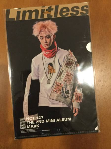 ☆NCT127マーク MARK Limitless クリアファイル