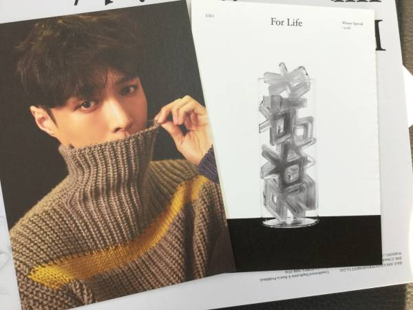☆EXO レイ For Life ランダム ポストカード 新品 公式