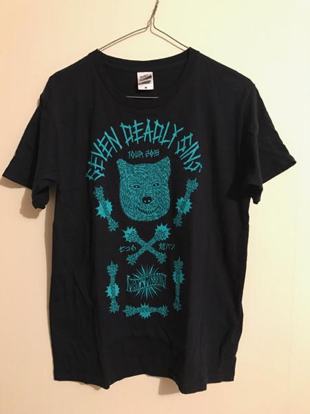 マンウィズ tシャツ 2015 mサイズ
