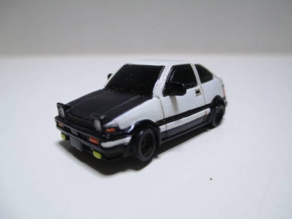 イニシャルD 頭文字D トレノ AE86 フィギュア ミニカー_画像1