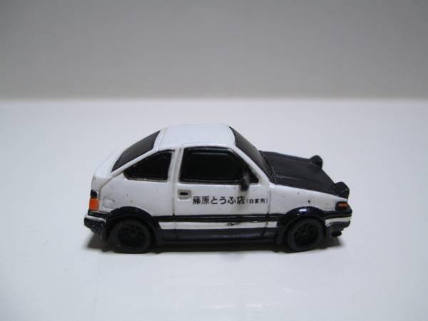 イニシャルD 頭文字D トレノ AE86 フィギュア ミニカー_画像2