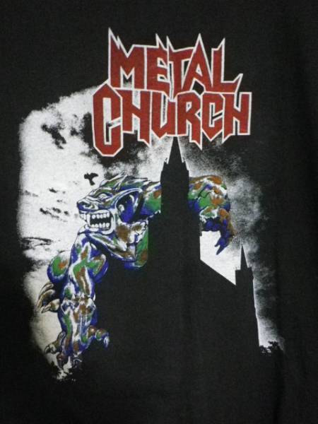 ヴィンテージ スラッシュメタル メタルチャーチ Tシャツ
