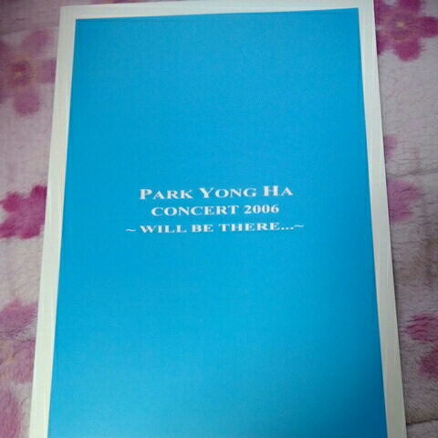 パクヨンハ★『WILL BE THERE 2006』パンフレット美品