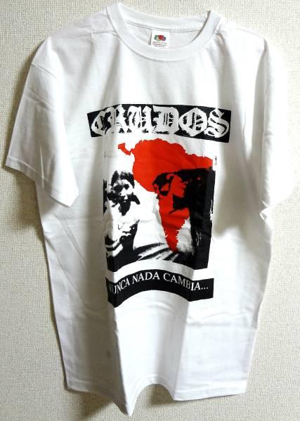 Los Crudos Tシャツ,Gauze,Lip Cream,Warhead,DSB,Discharge