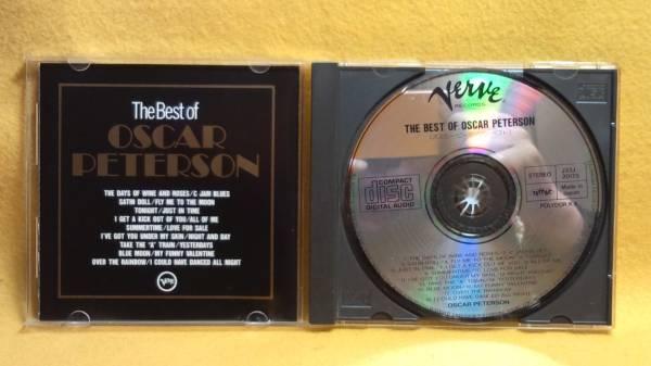 ザ ベスト オブ オスカー ピーターソン The Best of OSCAR PETERSON ジャズ ピアノ CD_The Best of OSCAR PETERSON ジャズ CD