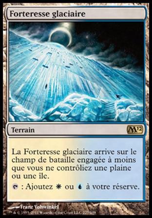 【フランス語】 M12 氷河の城砦/Glacial Fortress 【NM-】 L_画像1