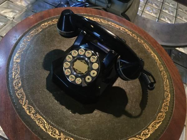 黒電話 ペニージャパン レトロな黒電話