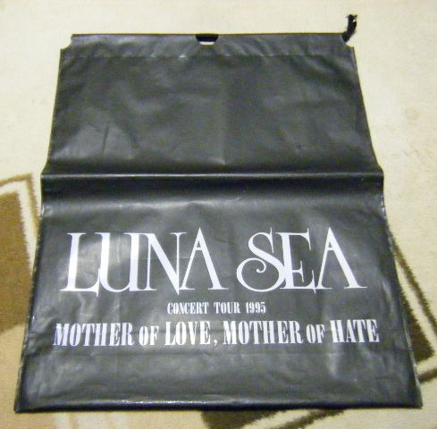 LUNA SEA CONCERT TOUR1995 ビニールバッグ MOTHER OF LOVE/HATE