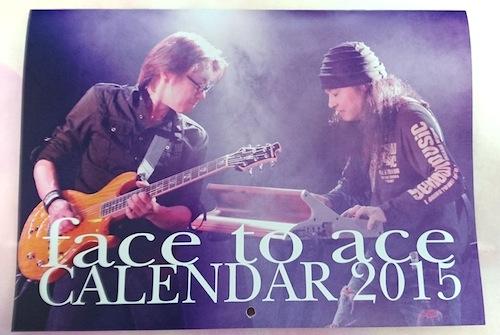 face to aceカレンダー2015年★おまけ付