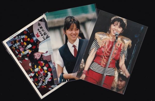 おニャン子クラブ 渡辺満里奈・渡辺美奈代 写真3枚