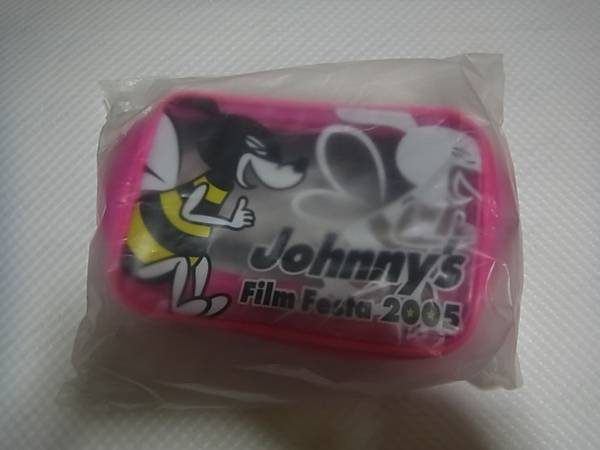 ★Johnny's Jr.★Johnny's Film Festa 2005 クリアポーチ