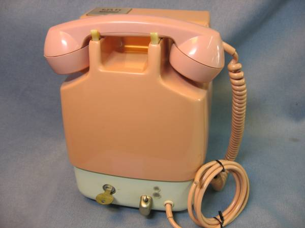 NTT ピンク電話 公衆電話機 ダイヤル式 10円用 675S-A2_画像3