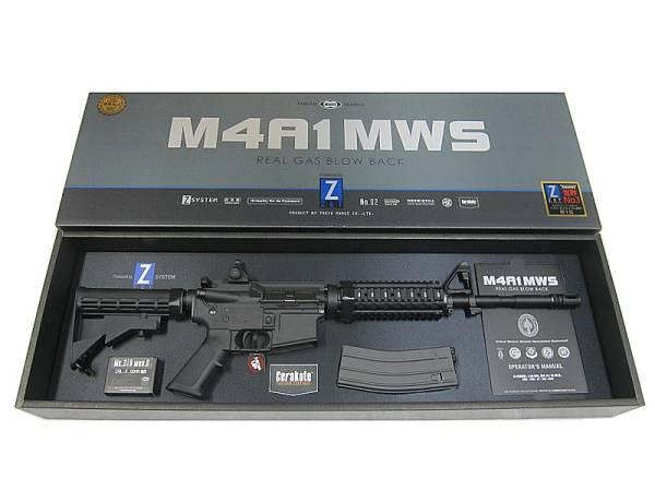 [新品商品]東京マルイ GAS-BLK COLT M4 MWS セラコート