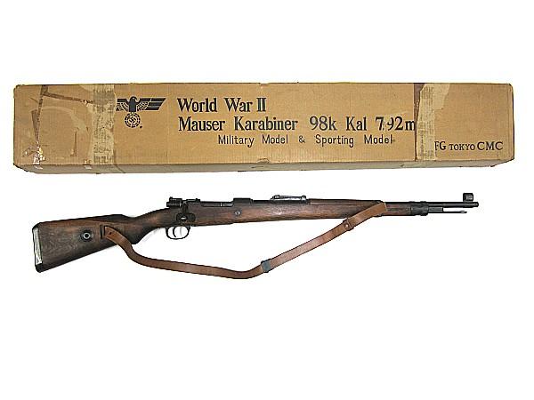 CMC モデルガン モーゼル kar 98k スリング付(カート無)Mauser