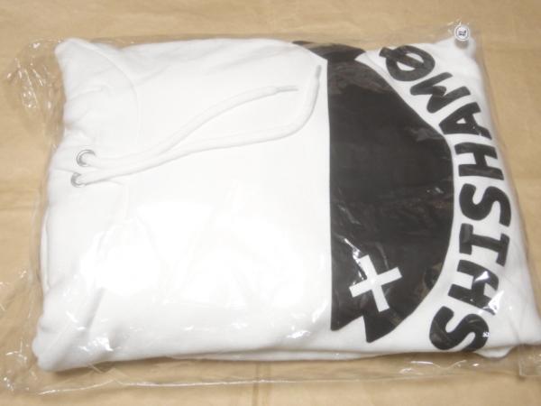 新品 SHISHAMO NO OSAKANAパーカー 白 XLサイズ / ししゃも ホワイト