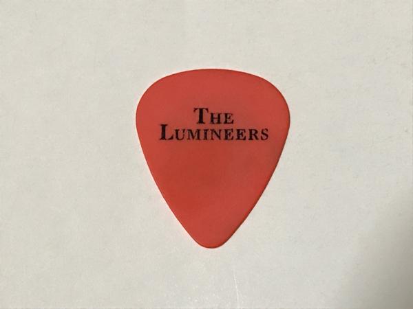 ☆THE LUMINEERS ザ・ルミニアーズ ギターピック☆