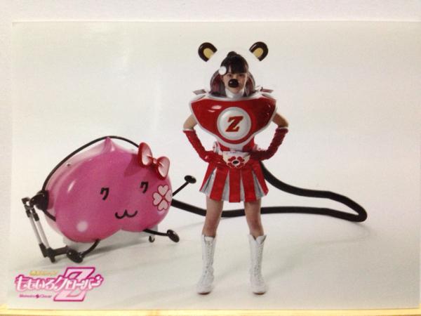 ももクロ 生写真 百田夏菜子 Z伝説 MEGA WEB