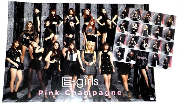 б4 特典ポスター2種セット [Pink Champagne] e-girls