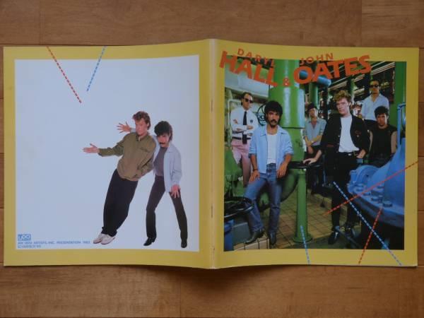 Daryl Hall & John Oatesホール&オーツ★1982日本公演パンフ