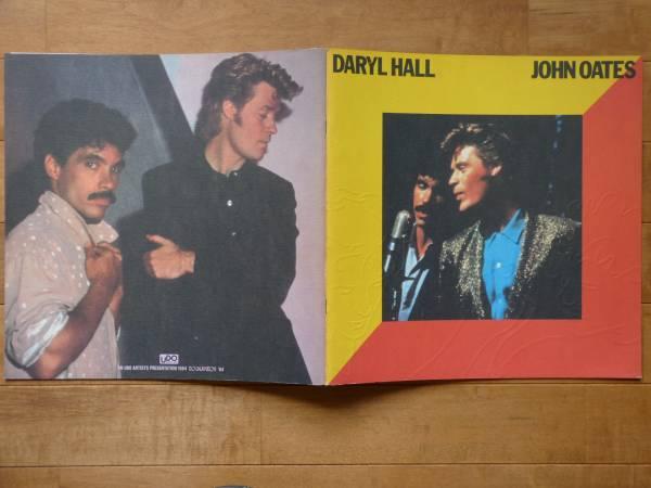 Daryl Hall & John Oatesホール&オーツ★1984日本公演パンフ