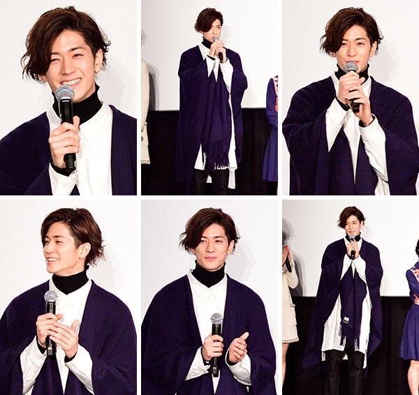 中島裕翔 僕らのごはんは明日で待ってる 舞台挨拶 生写真12枚