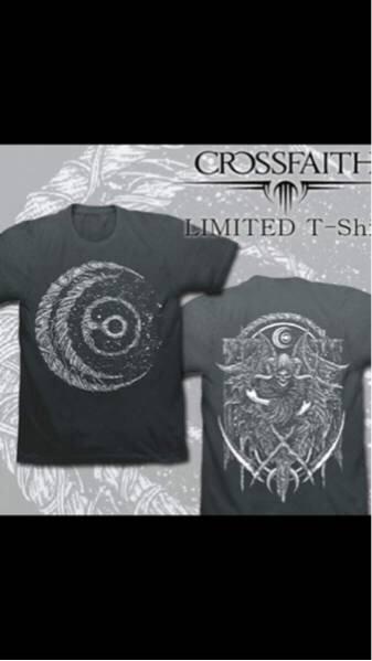 限定品 crossfaith クロスフェイス tシャツ XLサイズ