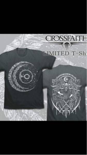 限定品 crossfaith クロスフェイス tシャツ Lサイズ