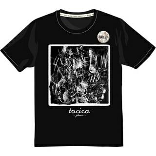 tacica 5周年記念グッズ(Tシャツ+バッジ) 完全受注生産 Sサイズ ライブグッズの画像