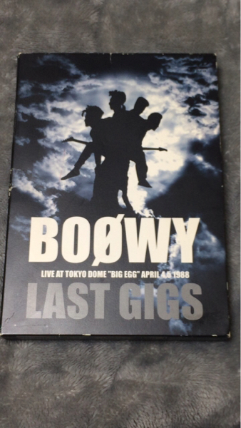 BOOWY ボーイ LAST GIGS DVD 中古