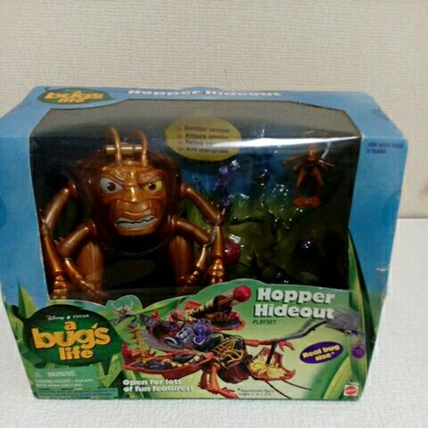 バグズライフ HOPPER HIDEOUT トイ ディズニー おもちゃ未開封 ディズニーグッズの画像
