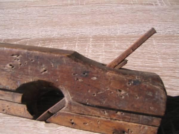 1710 鉋 さくりカンナ 作里カンナ 一枚刃 サビあり 大工用品 大工道具 建築工具 家具指物 DIY・_画像2