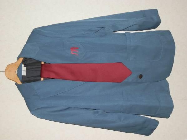涼宮ハルヒの憂鬱 県立北高校 男子制服 メンズL ブレザー グッズの画像