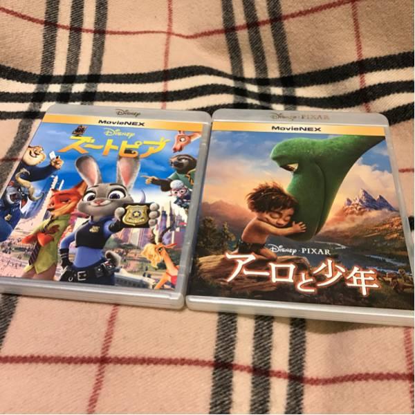 美品 送料込 ズートピア アーロと少年 DVD セット ディズニー ディズニーグッズの画像
