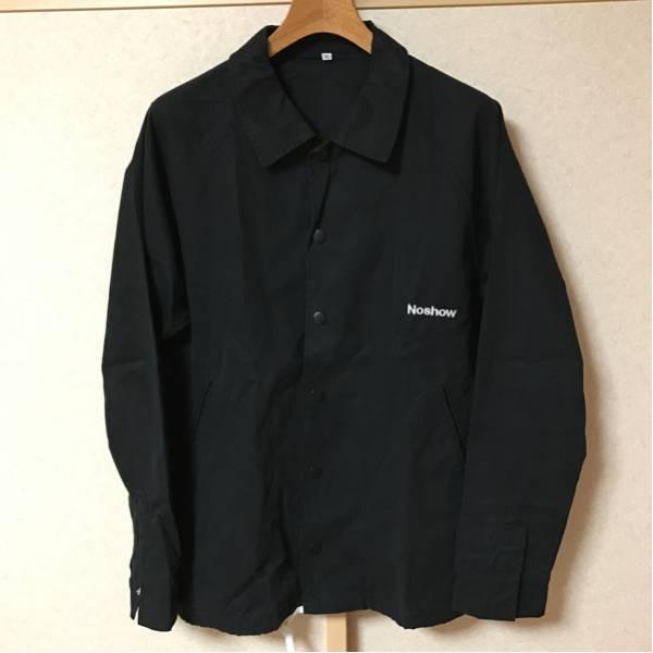 noshow コーチジャケット 黒 XL (短期間出品)