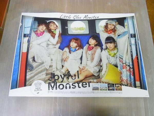 未使用★Little Glee Monster Joyful Monster★告知ポスター