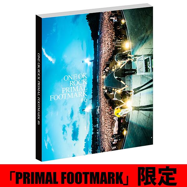 ONE OK ROCK 2017 PRIMAL FOOTMARK PF会員限定版 特典付き