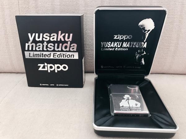 松田優作・zippo(限定)