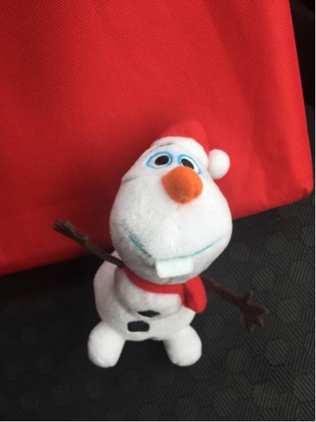 値引可 アナ雪 オラフ ぬいぐるみ キーチェーン マスコット ディズニーグッズの画像