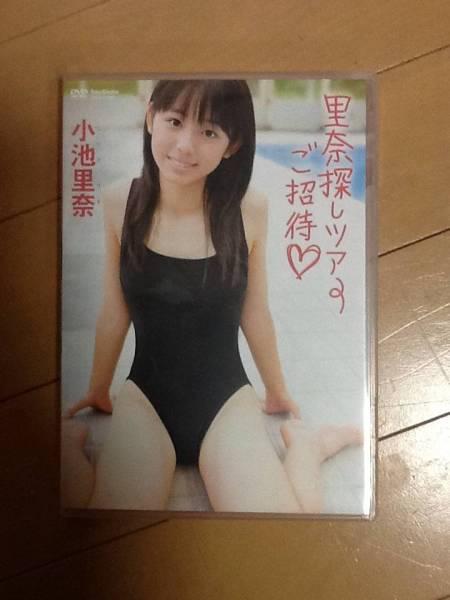 小池里奈 「里奈探しツアーご招待」 中古DVD 程度良好 グッズの画像